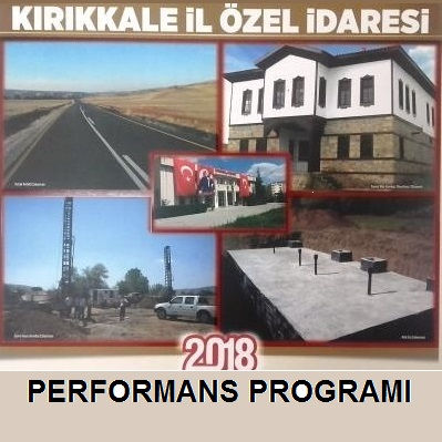2018 YILI PERFORMANS PROGRAMI